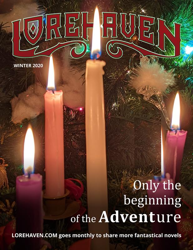 Lorehaven magazine, winter 2020